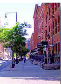Wynkoop Street in Denver, Co